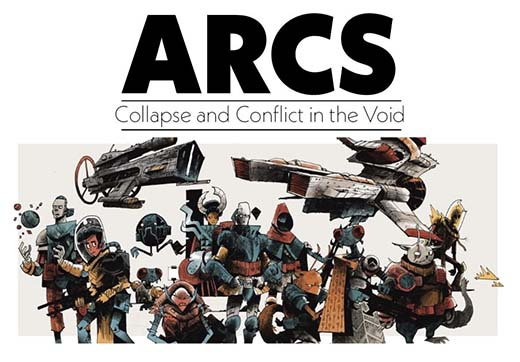 Posible portada de Arcs Collapse and Conflict in the Void