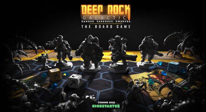 Banner de Deep Rock Galactic the board game