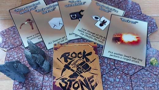 Xartas de Deep Rock Galactic the board game