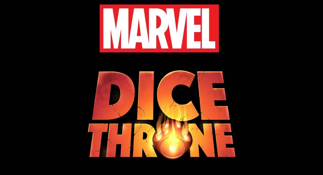 Logotipo de Marvel Dice Throne