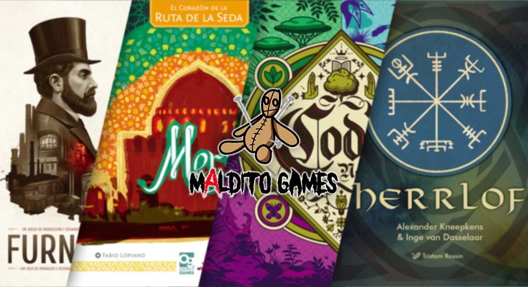 Las novedades de Maldito Games para octubre de 2021