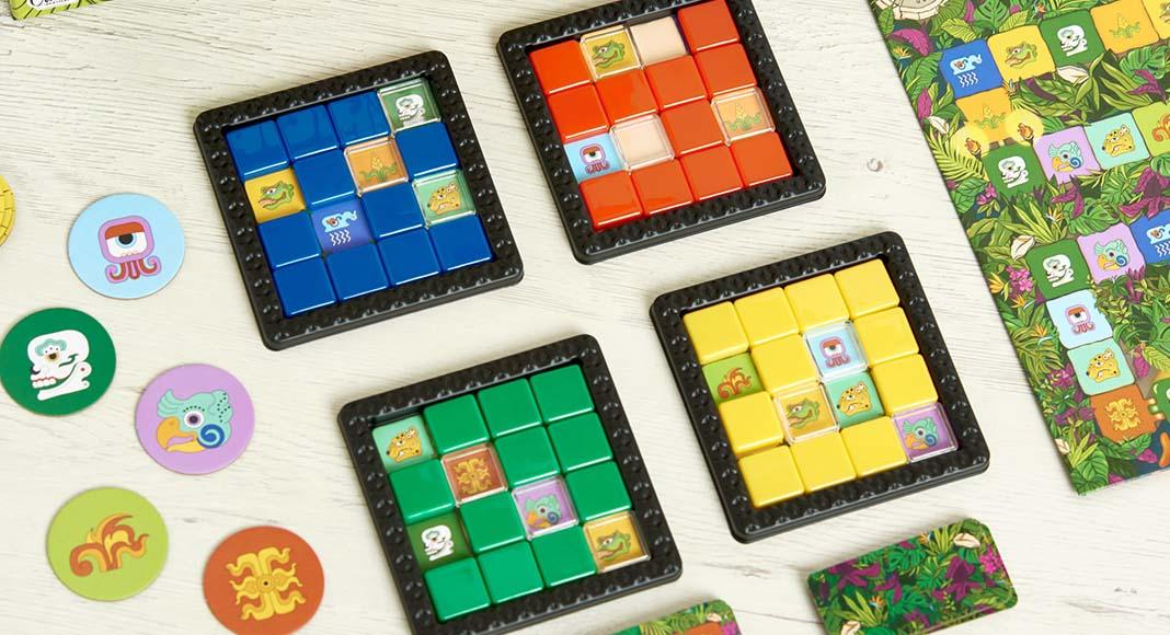 Puzles de Pakal el nuevo juego de mesa de Tranjis Games