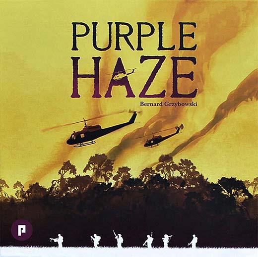 Portada del prototipo de Purple Haze