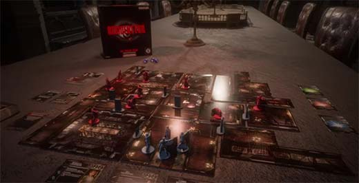 Componentes de Resident Evil The Board Game