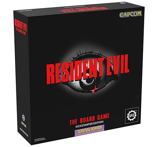 Portada de Resident Evil The Board game