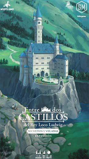 Portada de Entre dos castillos del rey loco Ludwig, secretos y veladas