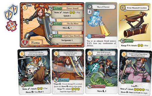 Carats de personaje de Tales from the Red Dragon Inn