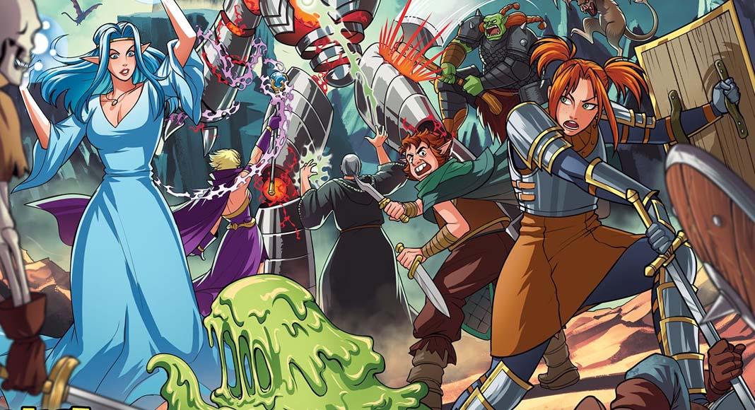 Arte de la portada de Tales from the Red Dragon Inn